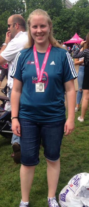 Racel Mason at the London Vitality 10000