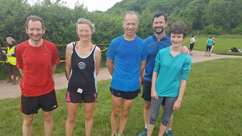 Striders at Congleton Parkrun