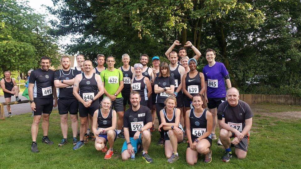 Striders at Tittesworth Fell Race