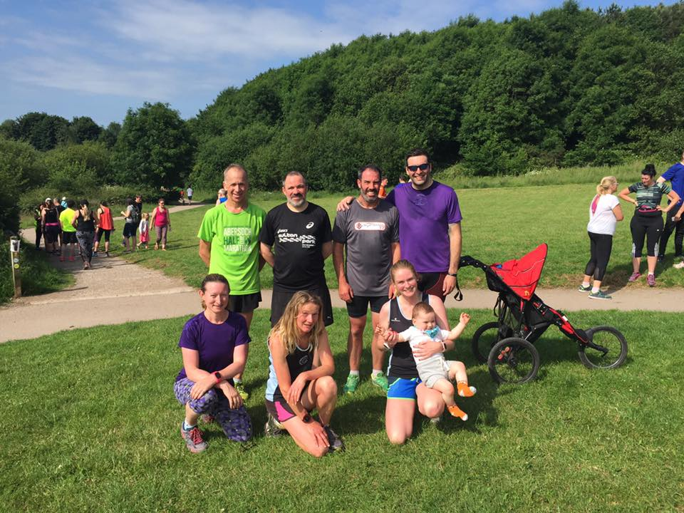 Striders at the Congleton parkrun
