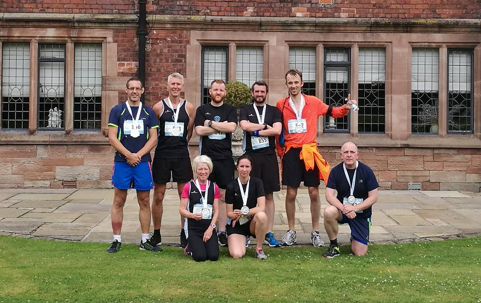Striders at the Coleshaw 10k