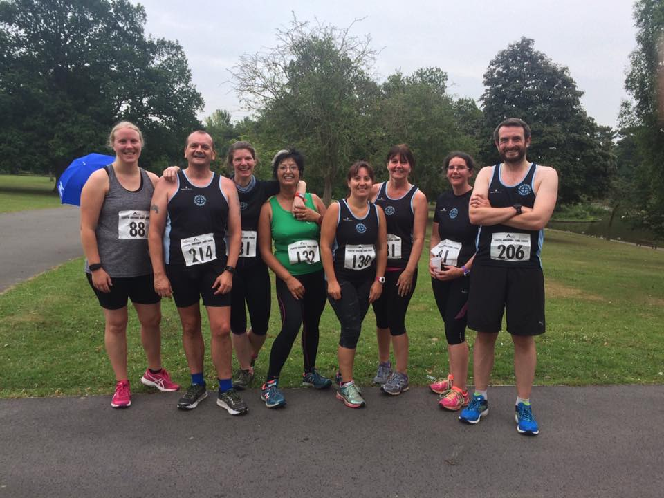 Striders at the South Cheshire 5k Series