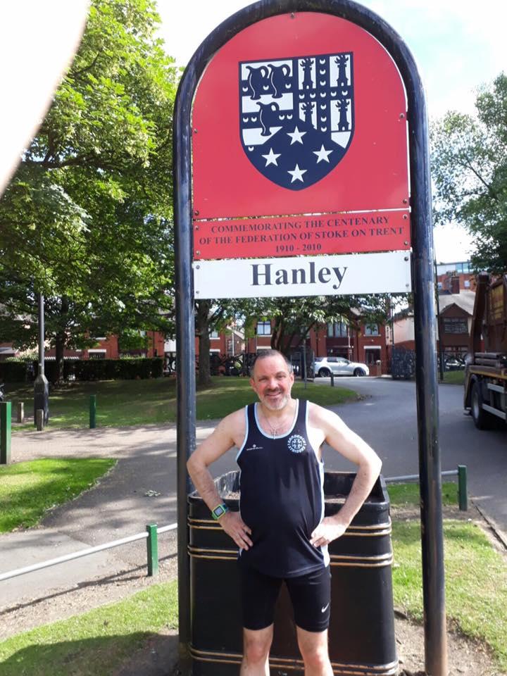 James Boon at Hanley parkrun