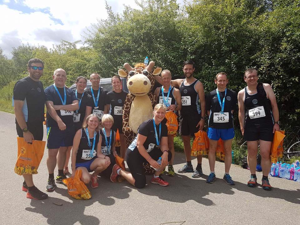 Striders at the Northwich Festival of Running