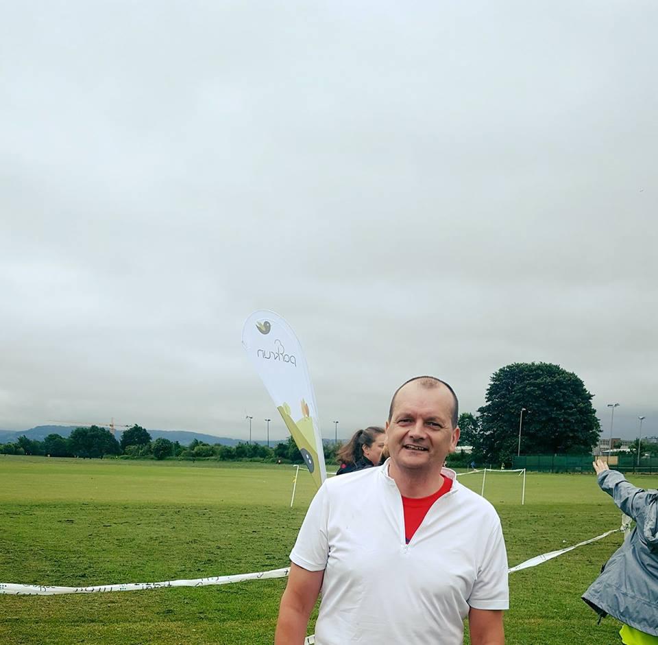 Paul Nicholls at Gloucester parkrun