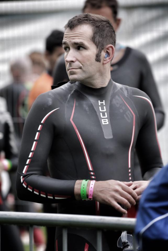 Steve Farnell at the Ironman