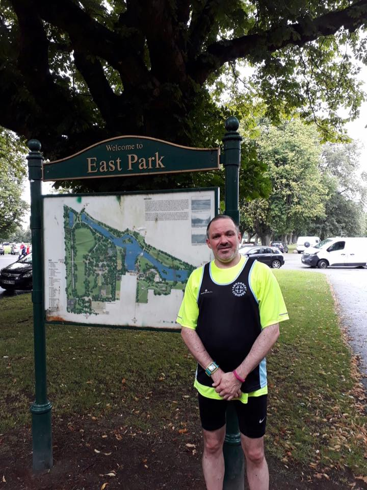 James Boon at Hull parkrun