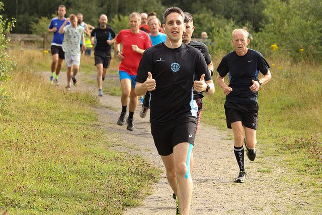 Matt Gough at Pennington Flash parkrun