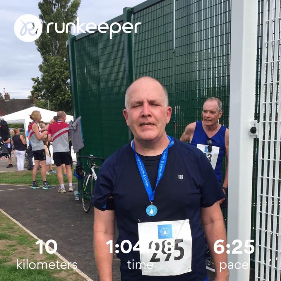 Phil Truman at Bollington 10K